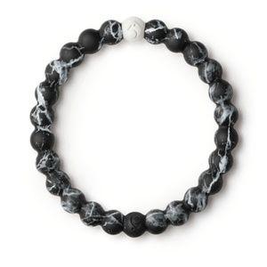 Lokai Marble Black Bracelet Med